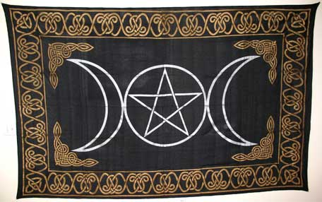 Triple Goddess Tapestry (72x90)