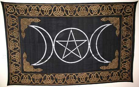 Triple Goddess Tapestry (72x90)