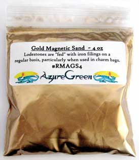 Gold Magnetic Sand (Lodestone Food)