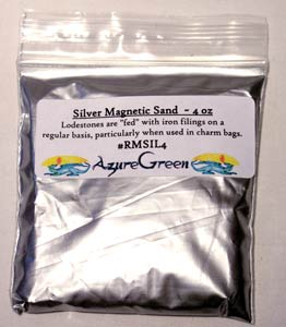 Silver Magnetic Sand (Lodestone Food)