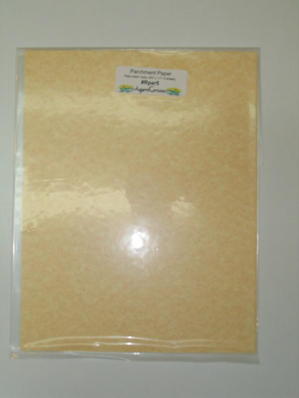Parchment Paper - Pale Cream