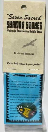 Business Success Shaman Stone