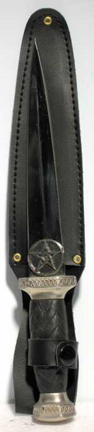 Scottish Pentagram athame