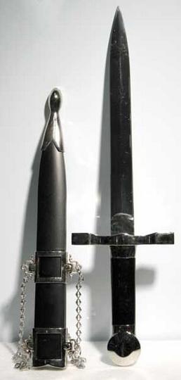 Black Handled Medieval Athame