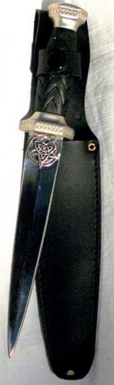 Triquetra Pentagram Athame