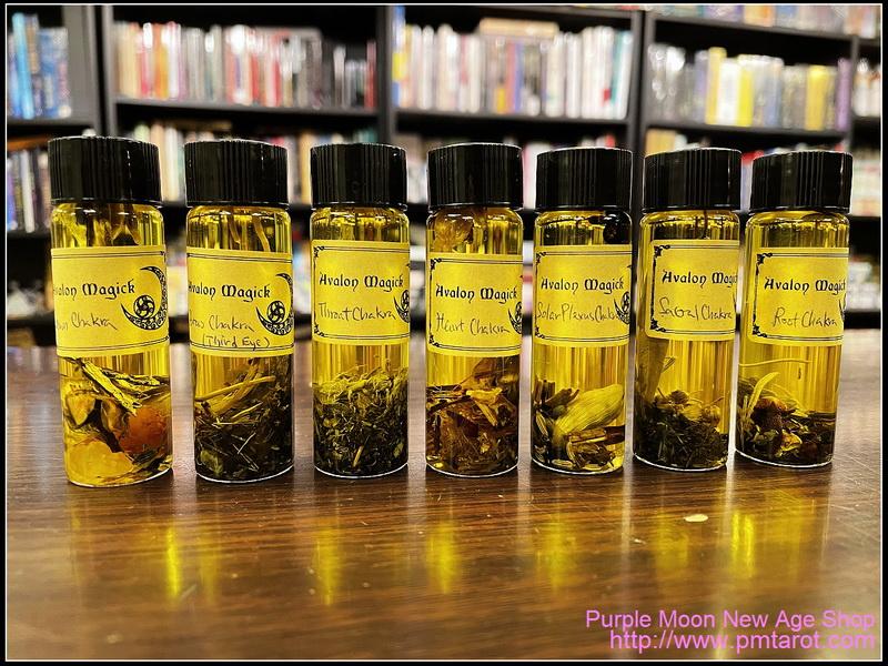Avalon Magick Chakra Oil (15ml)