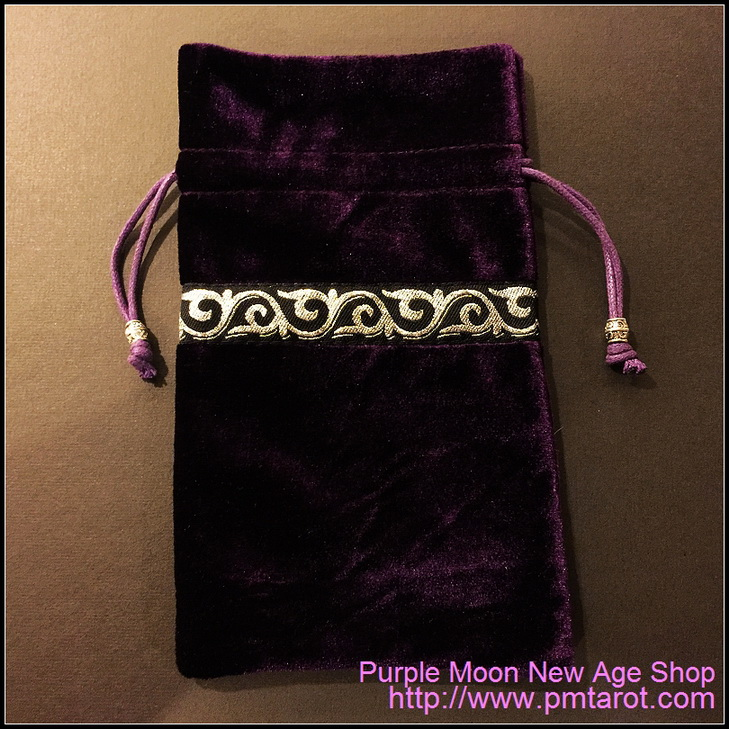 Purple Tarot Bag