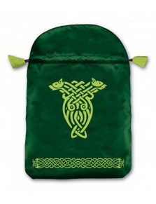 Celtic Satin Tarot Bag