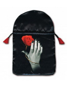 Rose in Hand Tarot Bag