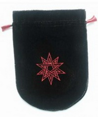 Double Pentagram Tarot Bag