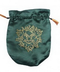 Green Man Tarot Bag