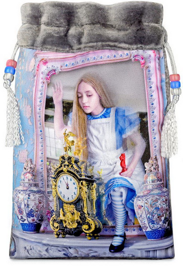 Alice Through the Looking Glass - limited edition Alice Tarot bag