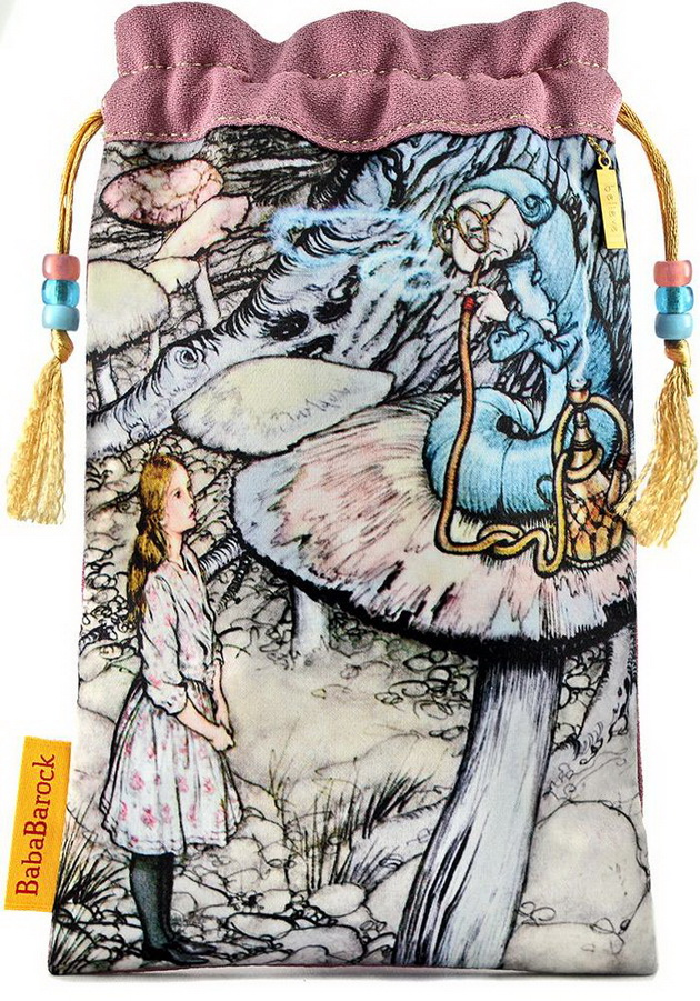 Alice and the Caterpillar - limited edition Alice Tarot bag