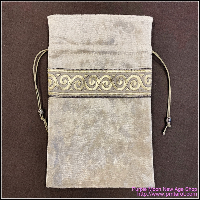 Grayish White Tarot Bag