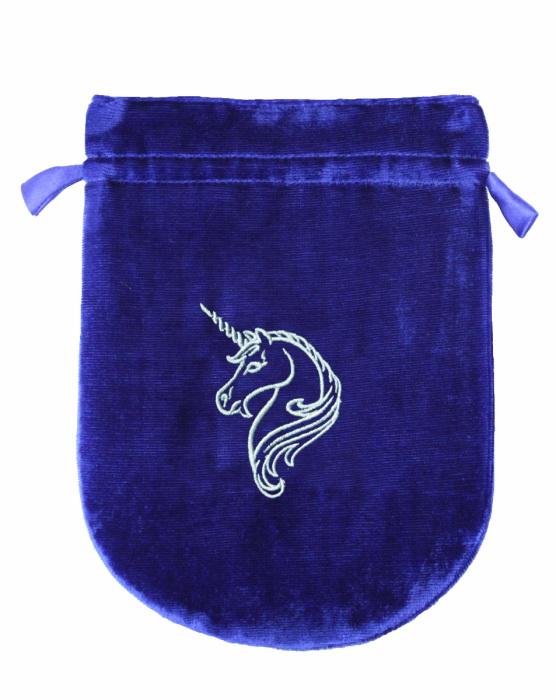 Unicorn Velvet Tarot Bag