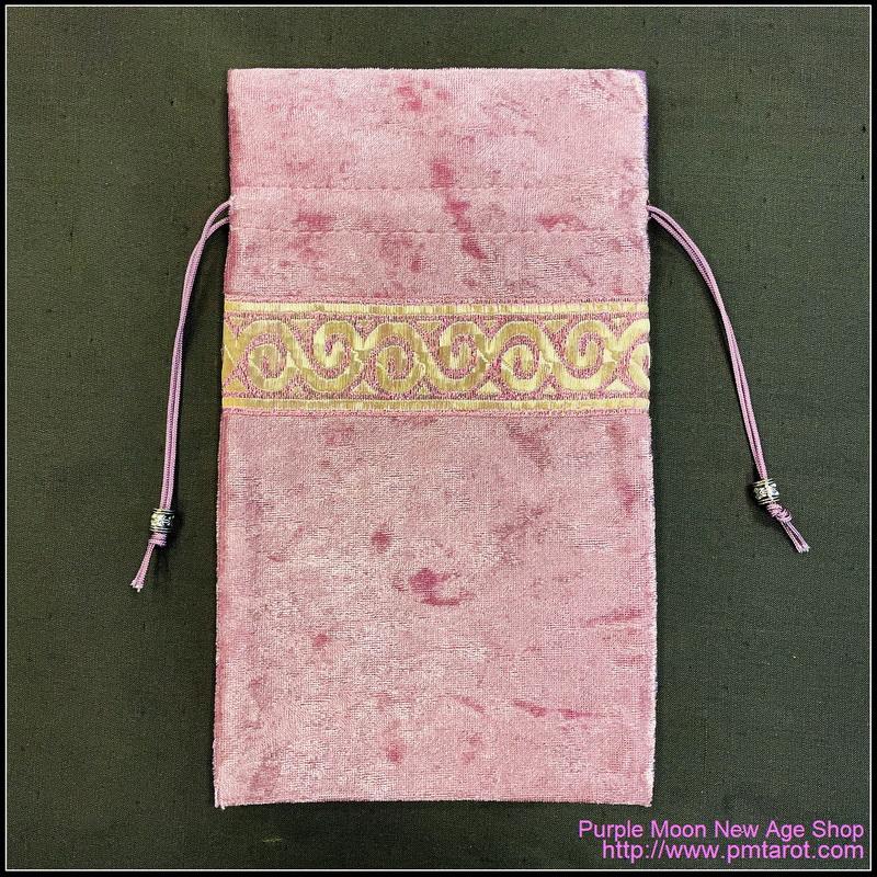 Pink Petal Tarot Bag