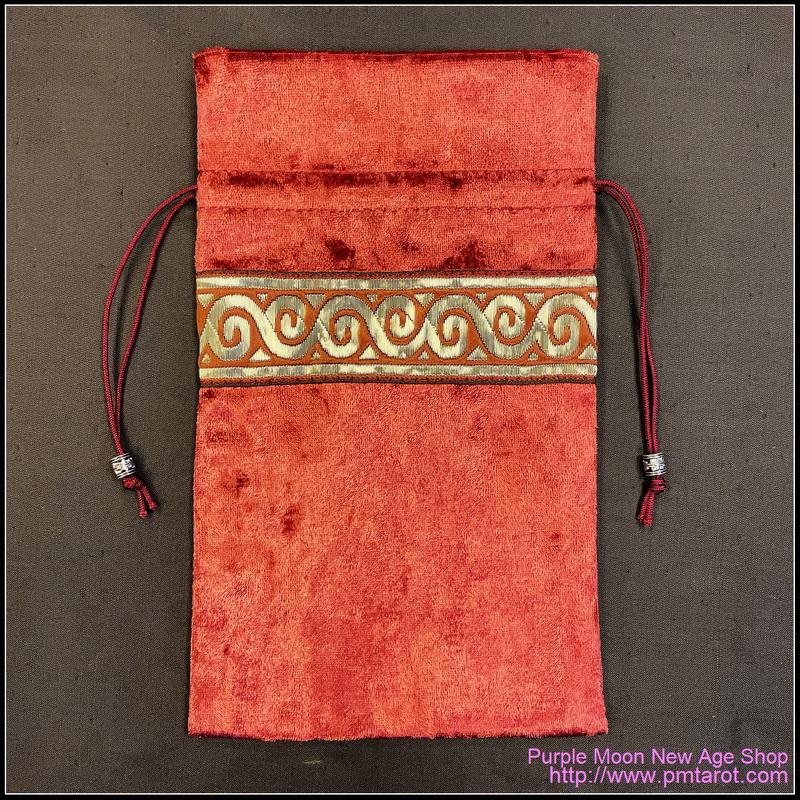 Red Petal Tarot Bag