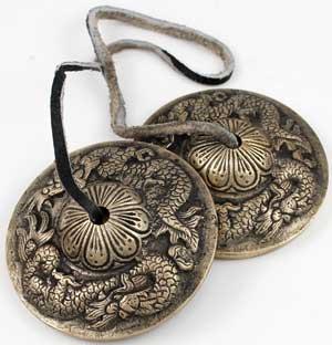 Dragon Tingsha Cymbals
