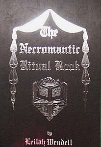 Necromantic Ritual Book by Leilah Wendell