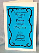 Success & Power through the Psalms by Rose, Donna