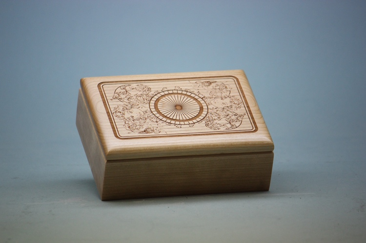 The Shadow of Oz Engraved Tarot Box