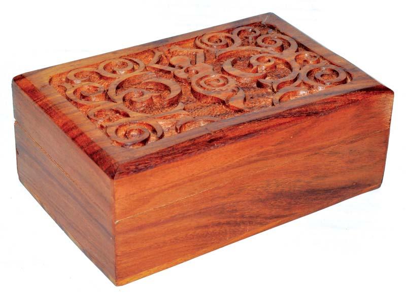Goddess Wooden Box