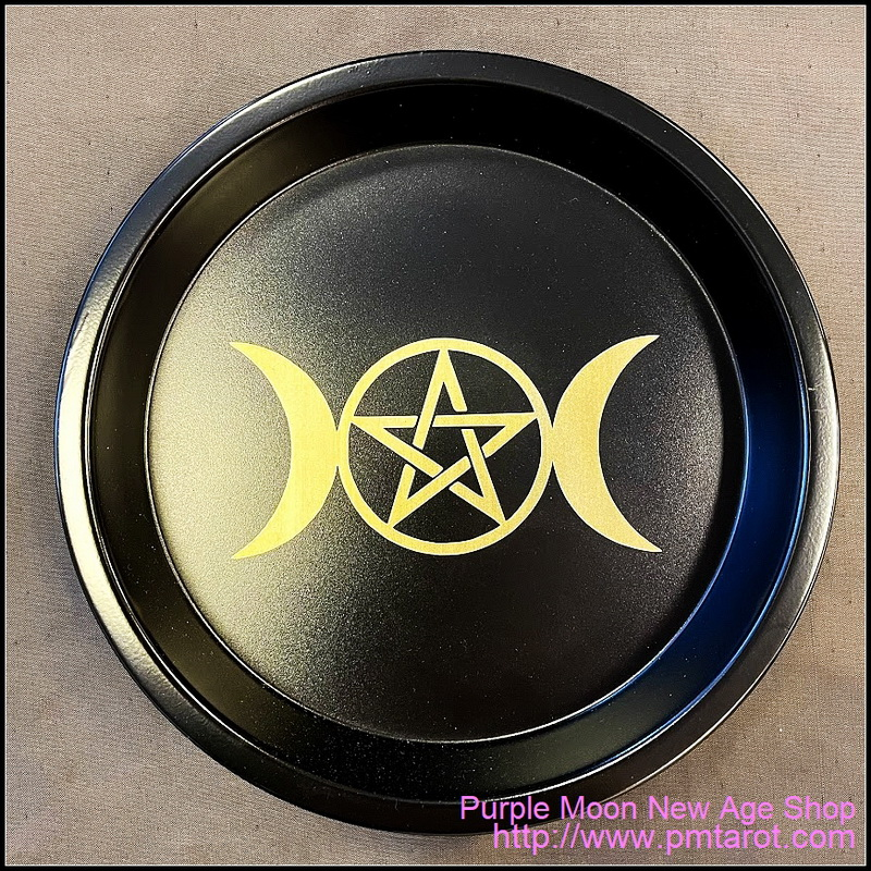 Steel Plate - Triple Moon Pentagram