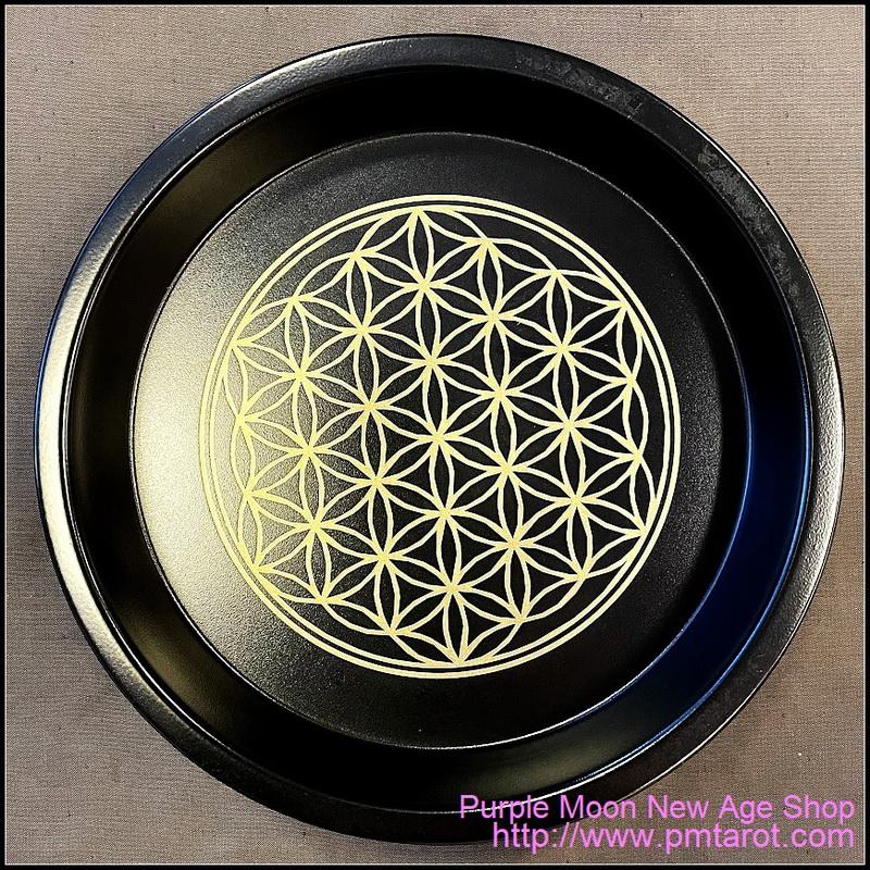 Steel Plate - Flower of Life