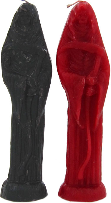 Ritual Molded Santisima Muerte / Holy Death Candle
