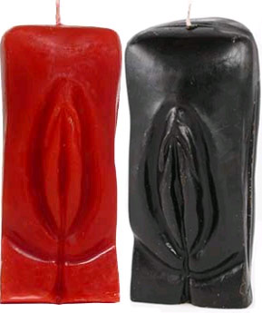 Genitalia / Female Gender Vagina Ritual Candle