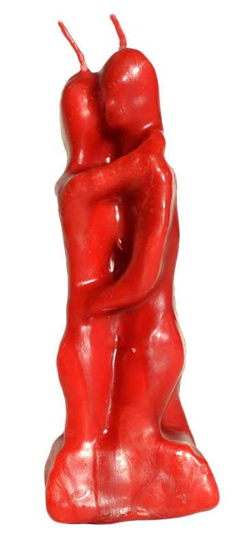 Red Lovers Candle