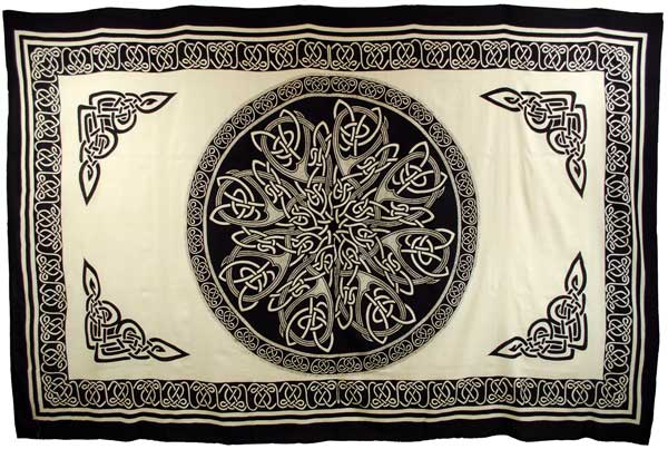 Ancient Celtic Knot Tapestry (72x108)