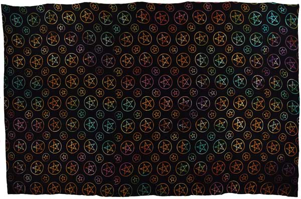 Pentagram Night Tapestry (72x108)