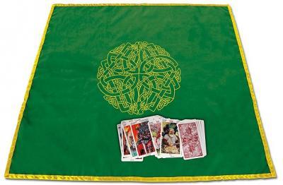 Celtic Labyrinth Tarot Cloth