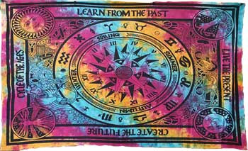 Cycle of Ages Tapestry (72x108)