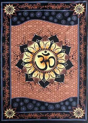 Om Lotus Tapestry (60x90)