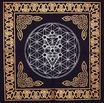 Tree Of Life Altar Cloth (18x18)