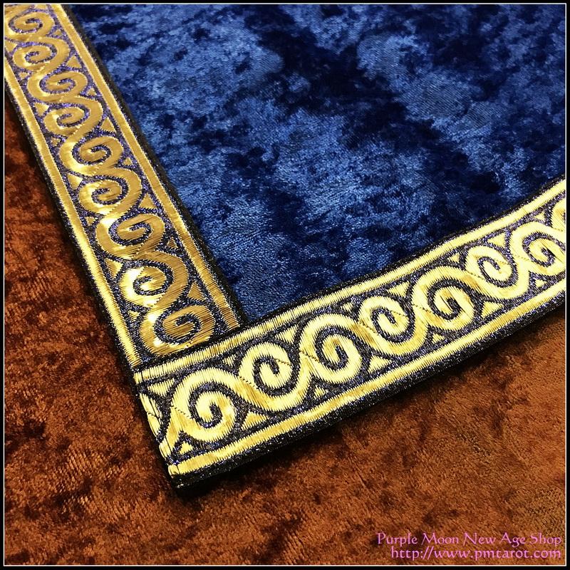 Blue Tarot Cloth