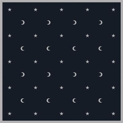 Moon & Stars Tarot Cloth