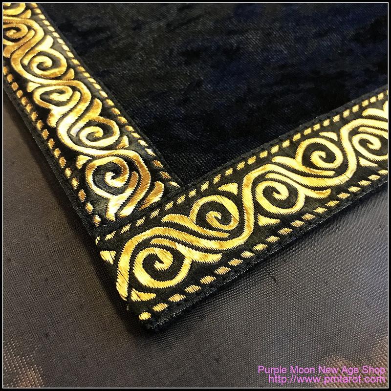 Black Tarot Cloth