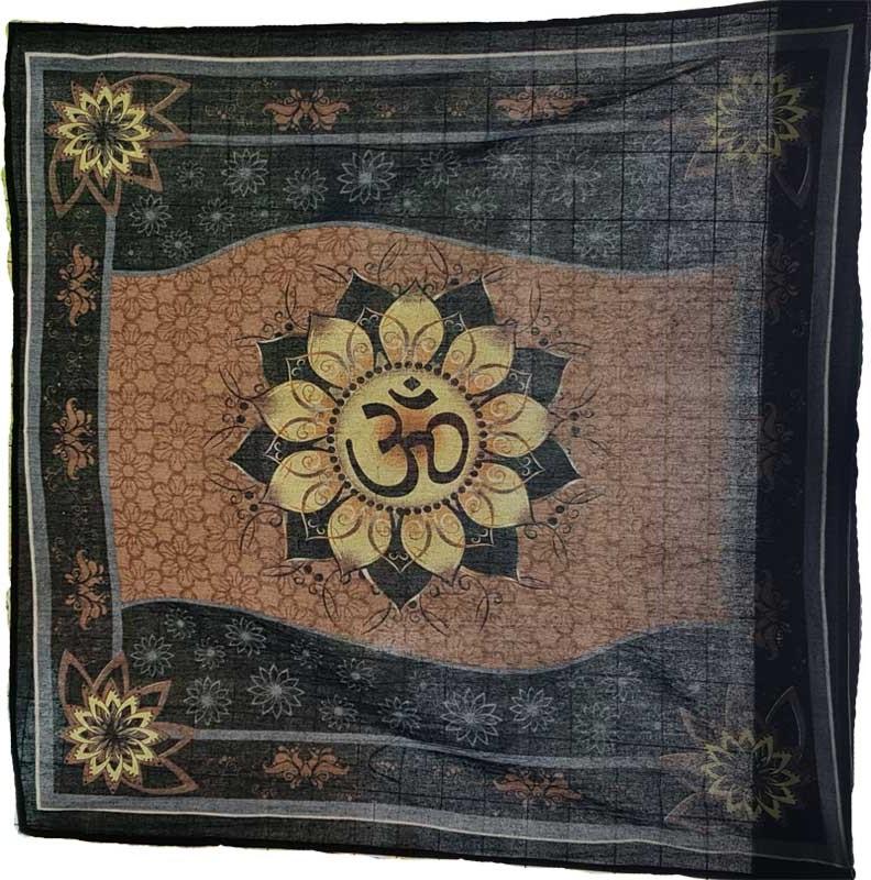 Om Lotus Tapestry (36x36)