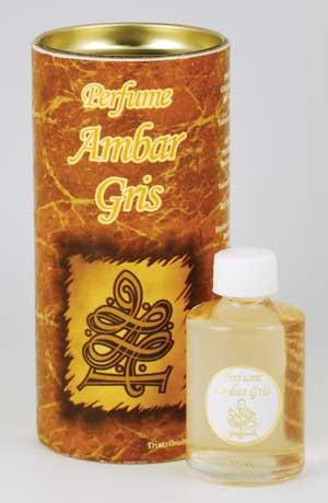 Grey Amber Perfume Oil