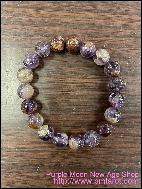 紫幽靈水晶手鍊