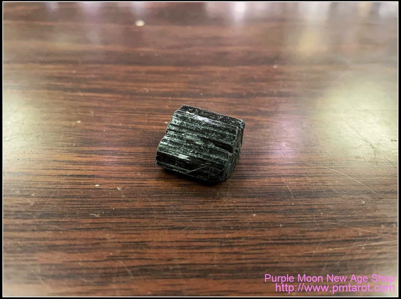 黑碧璽原石