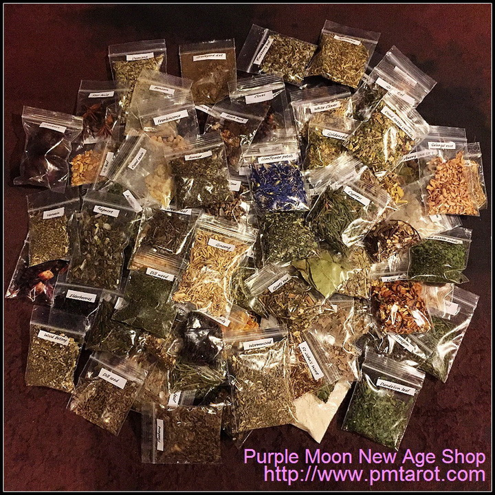 100 Herbs, Resins & Ingredients Starter Kit