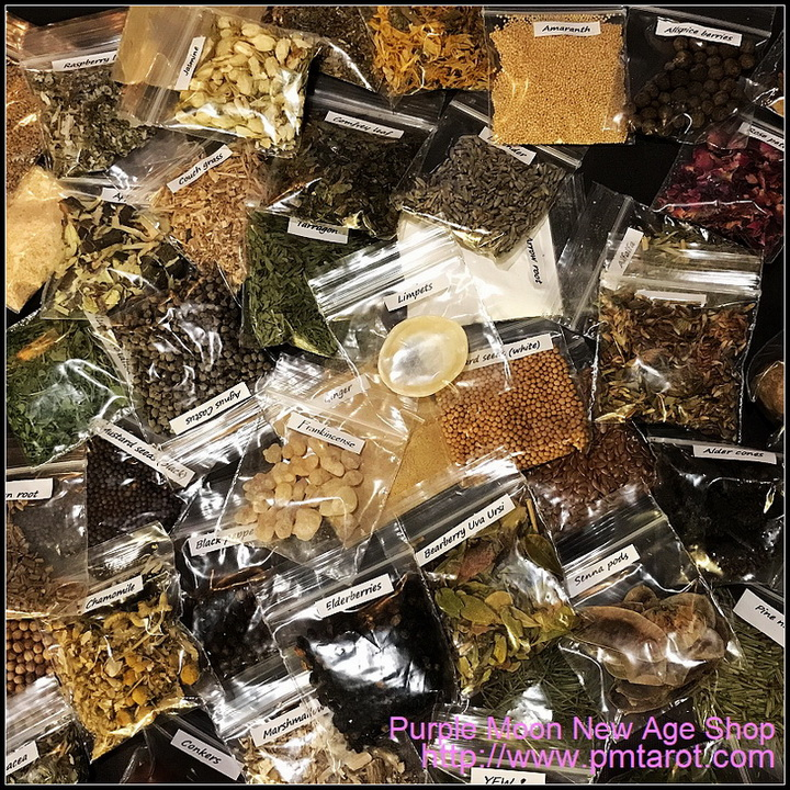 50 Herbs, Resins & Ingredients Starter Kit