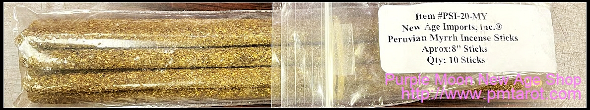 Peruvian Myrrh Incense
