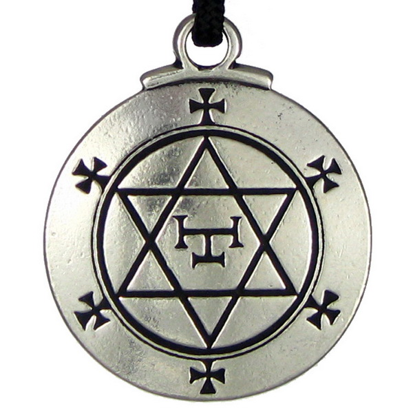 The Hexagram of Solomon Pendant