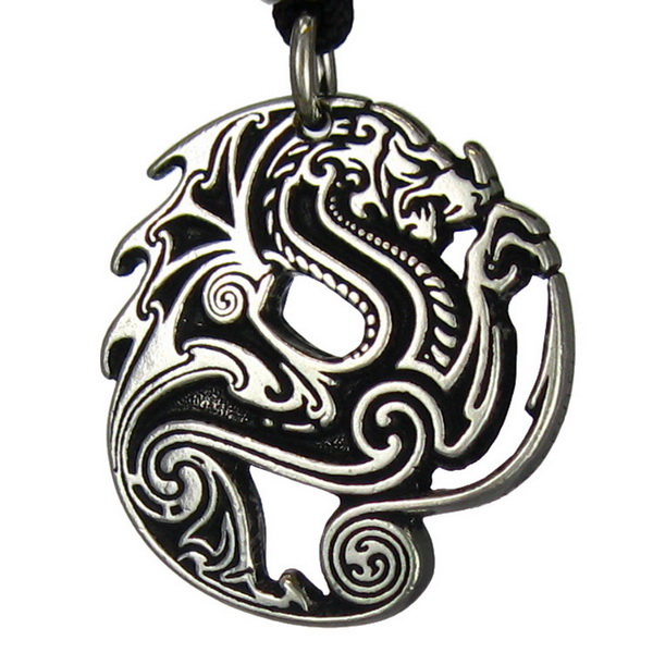 The Beowulfs Dragon Pendant