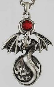 Alchemy Dragon Necklace